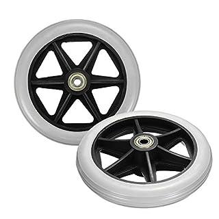KUNSE 150X35Mm Vorne Hinten Räder Ersatzteile Für Kardinal Rollator Walker C46