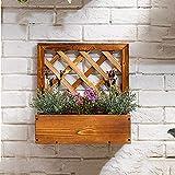 Présentoir de fleurs végétales multicouches Supports d'affichage de mur de bois de supports d'usine d'affichage multi-couche support de stockage de pot de fleurs d'affichage d'affichage de pot de fleu