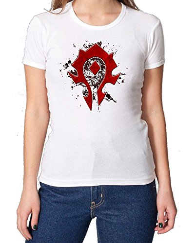 World Of Warcraft Horde Emblem Fan Art maglietta da donna XX-Large
