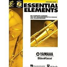 Essential Elements, für Posaune, m. Audio-CD