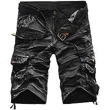 Herren Shorts Kurze Hose, Dasongff Herren Cargo-Shorts Bermuda Hose mit Taschen Strand Casual Kurze Hosen Freizeit Sports Shorts Sommer