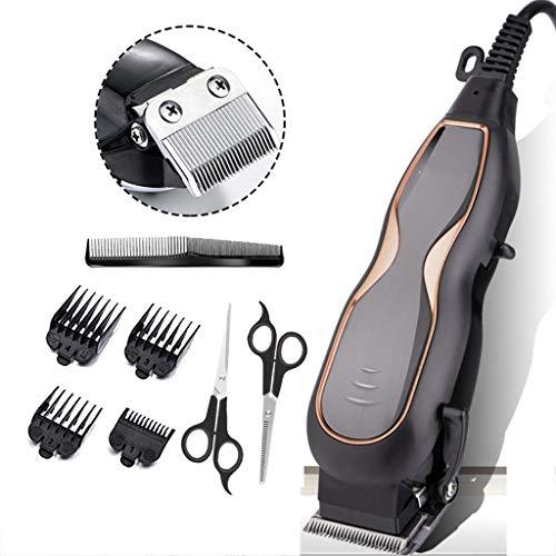 Professionelle Herren Haarschneider, Haarschneider, professionelle Haarschnitt-Kit mit Schnur, ultra-niedrige Geräusche und hohe Leistung, geeignet für Friseure und Stylisten 250v Schnur Set