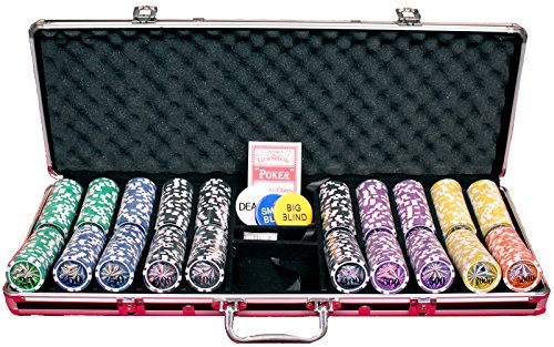 51OzN%2BIMYCL - NO.1 BETTING 13.5 Gram 500 Piece Poker Chip Set