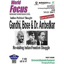 Indian Political thought Gandhi, Bose & Dr. Ambedkar