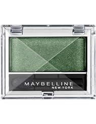 Maybelline New York Lidschatten Eyestudio Mono Lidschatten Intense Green 540 / Eyeshadow sanfte Farben mit cremiger Textur, 1 x 2 g