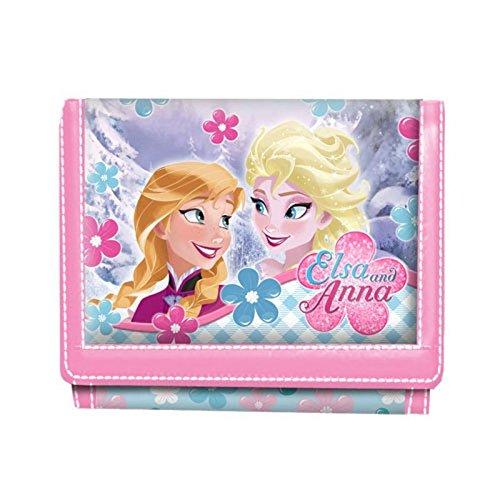 Portefeuille 3 volets La reine des Neiges - Elsa et Anna