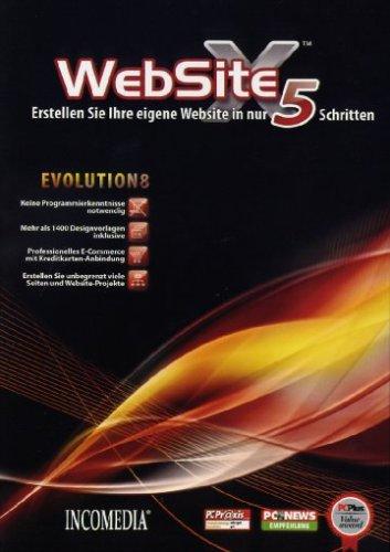 Preisvergleich Produktbild WebSite X5 Evolution 8
