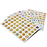 Emoji Aufkleber 576 Nette lustige Sticker Glückliche Gesichter von iPhone Modische Geschenke für Kinder Erwachsene