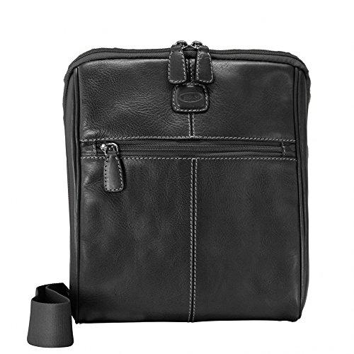 Bric's BricŽs Life Pelle Sac à main porté épaule cuir 24 cm Black