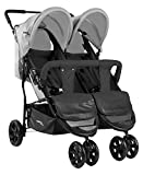 Asalvo Double Dynamic Poussette Anthracite