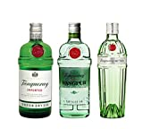 Tanqueray London Dry Gin (1 x 1.0 l), Tanqueray Rangpur (1 x 0.7 l) und Tanqueray No.Ten (1 x 0.7 l)