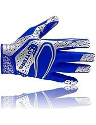 Cutters S251 REV 2D les gants de football américain, receveur, royal