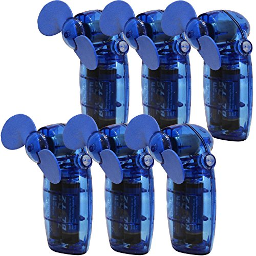 Sure Travel Mini Easy tragbar Cooling-Akku-Gebläse Kühler Fan-6Pack (6Fans) -