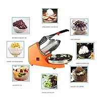 Ice Shaver Crusher Machine 65kg Per Hour