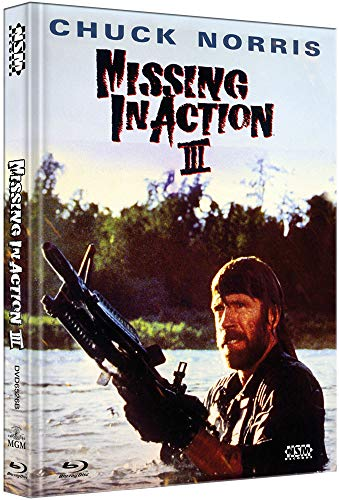 Missing in Action 3: Braddock  [Blu-Ray+DVD] - uncut -  limitiertes Mediabook Cover B