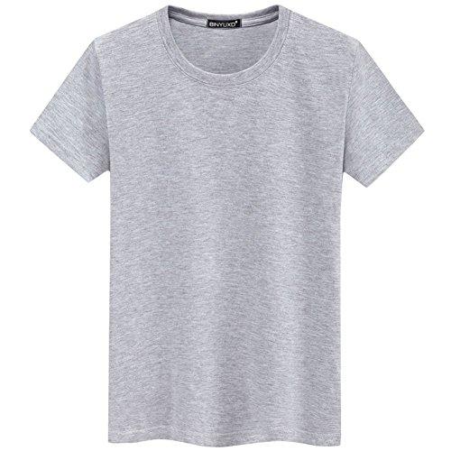 f800ca505 Camiseta Básica De Manga Corta T-Shirt para Hombre con Cuello Redondo  T-Shirt