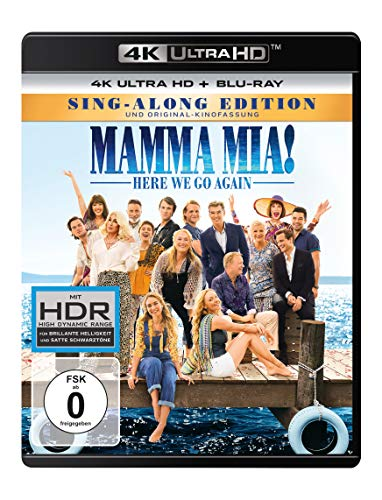 Mamma Mia! Here We Go Again  (4K Ultra HD) (+ Blu-ray 2D)
