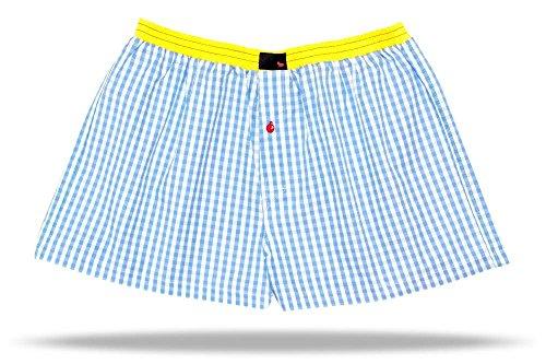Preisvergleich Produktbild UNABUX Boxershorts Boxers Boxer Shorts Webboxer Unterwaesche Unterhose Briefs - GROESSE XXL
