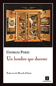 Un hombre que duerme par Georges Perec