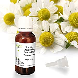Allin Exporters Roman Chamomile Essential Oil - 100% Pure, Natural & Undiluted - 15 ML