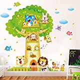 ALLDOLWEGE Selbstklebende Wandaufklebern Cartoon Kinder Aufkleber Schlafzimmer kinderzimmer Wand Dekoration Kreative Dekoration