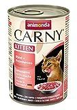 Bild: Animonda Carny Kitten Rind plus Putenherzen 12er Pack 12 x 400 g