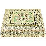 Aatmiya Dry Fruit Box, Serving Tray, Decorative Platter, Beautiful Snack Box With Meenakari Work(16 Dry Fruit Box)