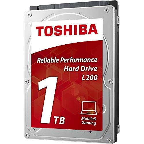 Toshiba 1TB L200 2,5-Zoll-SATA-III interne Laptop Festplatte 5400 u/min 8MB Cache