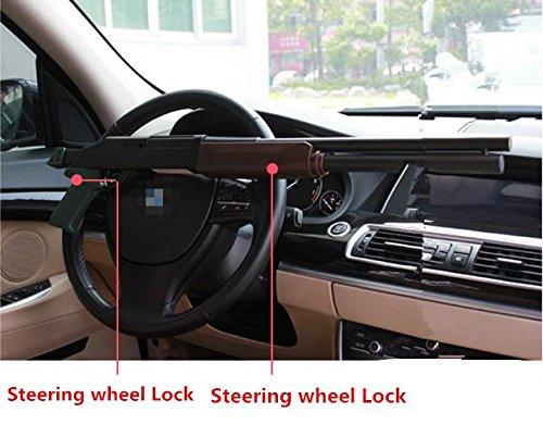 Auto Diebstahlsicherung,Lenkrad Sperren Fahrzeug Auto KFZ Anti-Diebstahl Sicherheit Lock Diebstahl Geräte Typ (Gun)