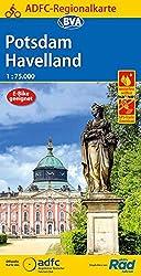 ADFC-Regionalkarte Potsdam Havelland, 1:75.000, reiß- und wetterfest, GPS-Tracks Download (ADFC-Regionalkarte 1:75000)