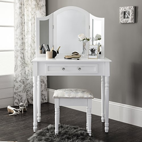 Sienna | Dressing Table, Mirror U0026 Stool ...