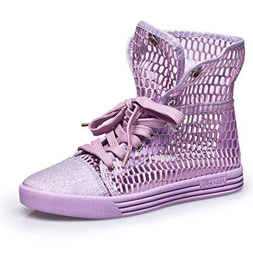 Do.BOMRVII , chaussures compensées femme purple
