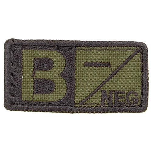 Blut-patch (Condor Blut Patch Oliv Drab / Schwarz B-)