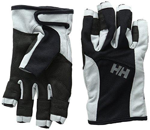 Helly Hansen Herren Sailing Glove Short Segelhandschuhe, Black, M