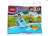 Lego Friends - 30401 - Pool Rutsche mit Schirm inklusive Minifigur Emma im Polybag / Beutel