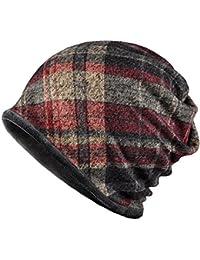 3fcfce51cf0fb Arcweg Calentador de Cuello Unisex Sombrero de Invierno Multifuncional  Bufanda Tubular de Forro Polar para Hombre