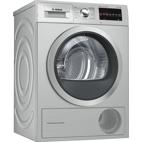 Bosch Serie 6 WTG8729XEE Independiente Carga frontal 9kg A++ Acero inoxidable -...