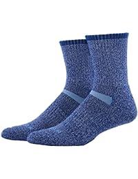 MEIKAN Calcetines de Senderismo Coolmax Trekking de Lana Merino, Calcetines de Rendimiento para entusiastas de