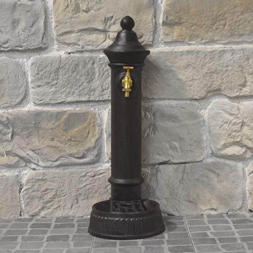 L'ORIGINALE DECO Fontaine à Poser de Style Ancien en Fonte avec Robinet Laiton 72 cm
