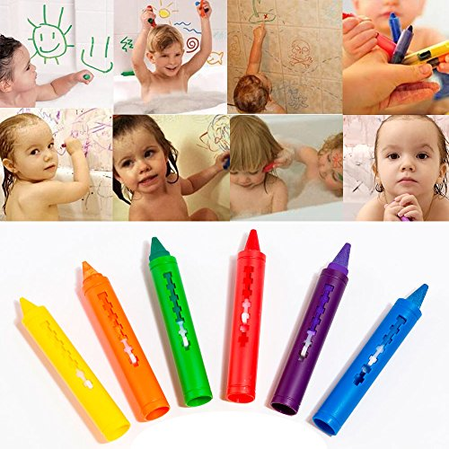 first-step-6-pack-baby-toys-colorful-child-washable-painting-drawing-doodle-brush-safety-wax-pen-bat