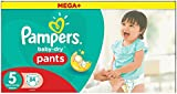 Pampers Baby-Dry Pants, Size 5 (Total 84 Nappies)