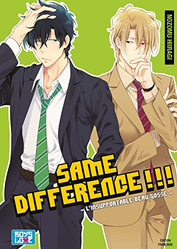Same Difference - Tome 04 - Livre (Manga) - Yaoi