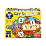 "Orchard Toys Wortbrettspiel ""Match and Spell"", Englische Version"