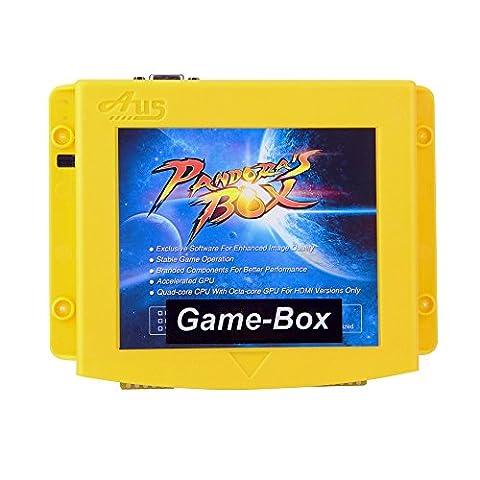 [Game-Box] Pandora box 4X <800 en 1> Jamma Arcade Cabinet Game Box, Classics Fighting Jeux Video Board Utilisé pour LCD / CRT(15kHz)