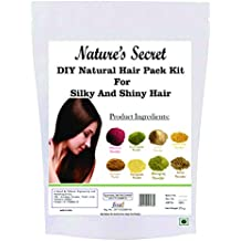 Nature's Secret DIY Natural Hair Pack Kit For Silky And Shiny Hair -250 Gm