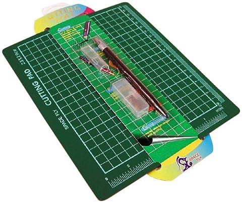 WDK PARTNER - A0601521 - Loisirs créatifs - Tapis de découpe + stylet - 23x19cm