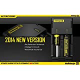 NEW 2014 VERSION NITECORE i2 Intellicharger For AA 18650 18500 14500 18350 & MOR