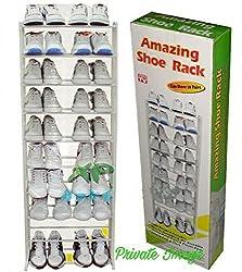 Private Image Amazing Shoe Rack 10 Tier Shoe Rack Organizer