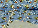 Jersey Cute Parrot Papageien Öko-Tex Standard 100 (25cm x