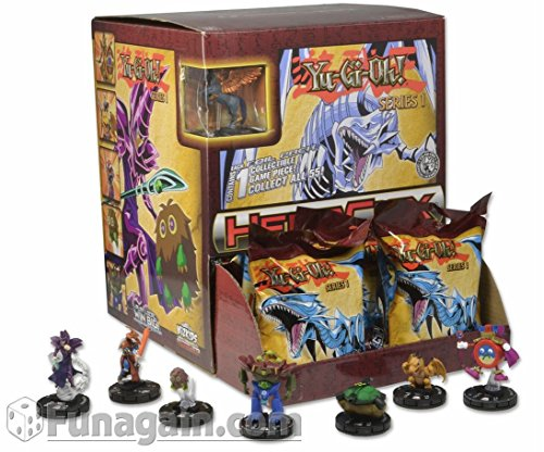 Yu-Gi-Oh! HeroClix Series One Gravity Feed Single Figure Foil Booster Pack - 1 Wizkids